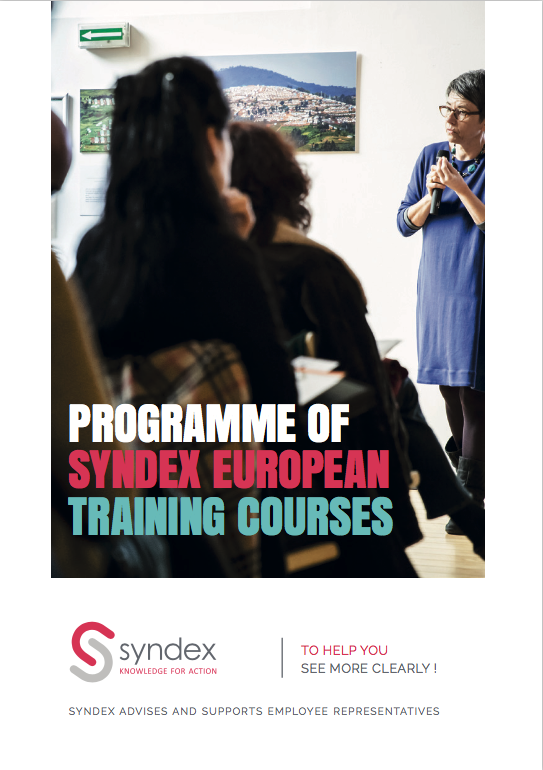 Program of Syndex European training courses