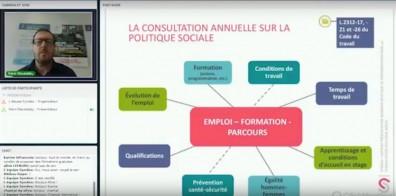 L'emploi, la formation, les parcours dans la consultation sur la politique sociale