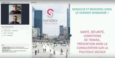Les conditions de travail et la prévention dans la consultation sur la politique sociale