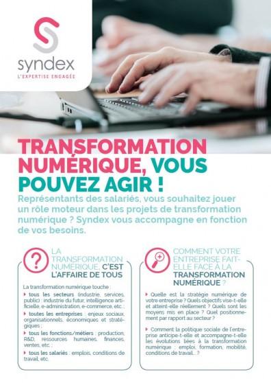 Transformation numérique : vous pouvez agir !