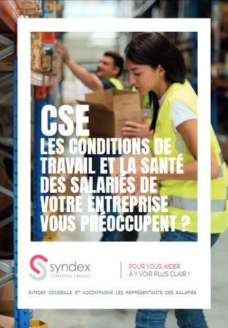 Dépliant CSE/Conditions de travail